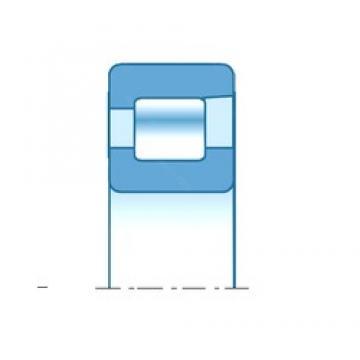 40,000 mm x 90,000 mm x 23,000 mm  NTN NF308E Rolamentos cilíndricos