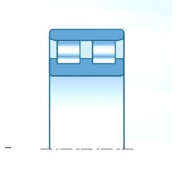 200 mm x 280 mm x 80 mm  NTN NN4940KD1C1NAP5 Rolamentos cilíndricos