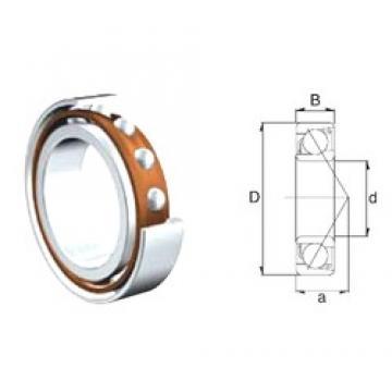 40 mm x 90 mm x 23 mm  ZEN 7308B-2RS Rolamentos de esferas de contacto angular