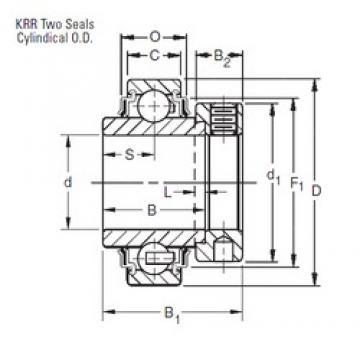 20 mm x 47 mm x 34,13 mm  Timken E20KRR Rolamentos de esferas profundas