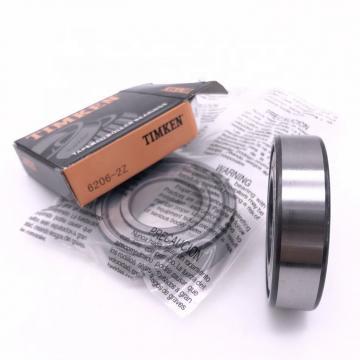30 mm x 62 mm x 19 mm  Timken 206KLD Rolamentos de esferas profundas
